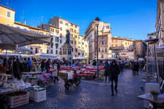 Campo dè Fiori Stock Photography