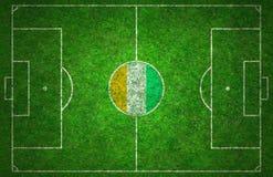 Campo da calcio Immagine Stock Libera da Diritti