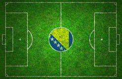 Campo da calcio Immagini Stock Libere da Diritti