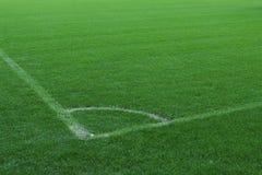 Campo da calcio Fotografia Stock Libera da Diritti