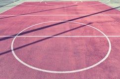 Campo da gioco, fondo di sport o struttura all'aperto Fotografia Stock Libera da Diritti