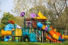 Campo da gioco per bambini Fotografie Stock Libere da Diritti
