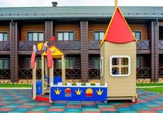 Campo da gioco per bambini Immagini Stock