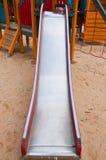 Campo da gioco per bambini anziani Fotografia Stock