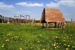 Campo da giuoco Belgern di avventura fotografie stock libere da diritti