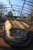 Campo da giuoco dei bambini in Chernobyl Fotografia Stock