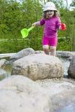 Campo da giuoco dell'acqua Fotografia Stock Libera da Diritti