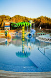 Campo da giuoco della piscina Fotografia Stock Libera da Diritti