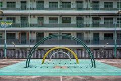 Campo da giuoco della proprietà a Hong Kong Fotografia Stock Libera da Diritti
