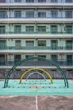 Campo da giuoco della proprietà a Hong Kong Immagine Stock