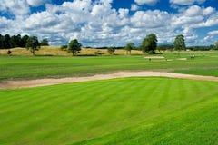 Campo da giuoco di golf immagine stock libera da diritti