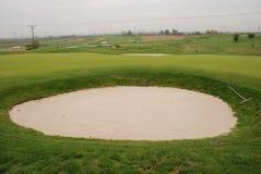 Campo da giuoco di golf Fotografia Stock Libera da Diritti