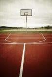 Campo da giuoco di pallacanestro Immagini Stock Libere da Diritti