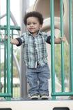 campo da giuoco felice del bambino Fotografie Stock Libere da Diritti