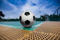 Campo da giuoco per futsal. fotografia stock