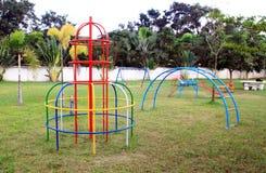 Campo da giuoco senza bambini Fotografia Stock Libera da Diritti