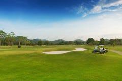 Campo da golf Fotografie Stock