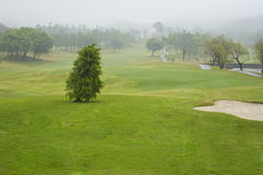 Campo da golf Fotografia Stock Libera da Diritti