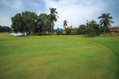 Campo da golf. Fotografie Stock Libere da Diritti
