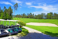 Campo da golf 7 Fotografia Stock