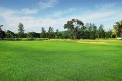 Campo da golf Fotografia Stock