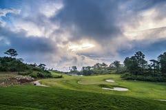 Campo da golf Immagini Stock