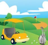 Campo da golf royalty illustrazione gratis