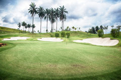 Campo da golf Immagine Stock