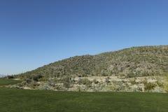 Campo da golf Arizona Fotografia Stock Libera da Diritti