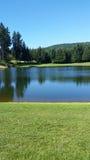 Campo da golf di nord-ovest pacifico Fotografia Stock Libera da Diritti