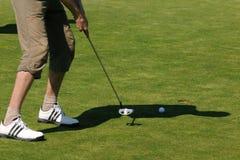 Campo da golf - repubblica Ceca Fotografie Stock