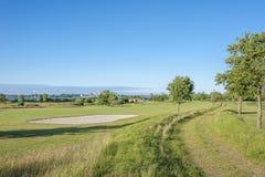 Campo da golf vicino a Wulfen immagine stock