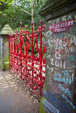 Campo da morango em Liverpool Imagens de Stock