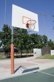 Campo da pallacanestro fotografie stock