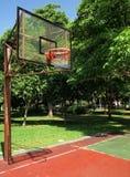 Campo da pallacanestro Immagini Stock