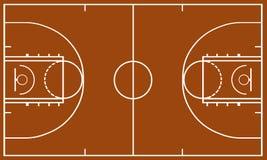 Campo da pallacanestro royalty illustrazione gratis