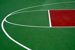 Campo da pallacanestro Fotografia Stock