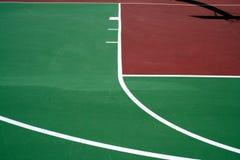 Campo da pallacanestro Immagini Stock Libere da Diritti