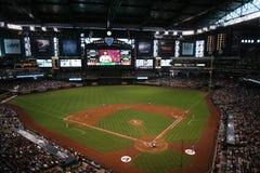 Campo da perseguição em Phoenix, o Arizona Fotografia de Stock Royalty Free