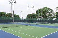 Campo da tennis Fotografie Stock