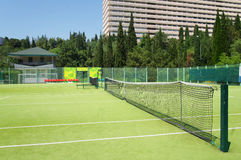 Campo da tennis Immagine Stock