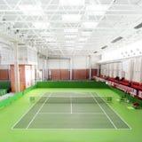 Campo da tennis Fotografia Stock Libera da Diritti
