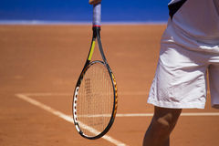 Campo da tennis Fotografie Stock Libere da Diritti