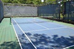 Campo da tennis 2 della piattaforma fotografie stock libere da diritti