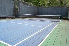 Campo da tennis 3 della piattaforma immagine stock