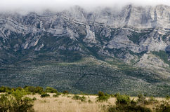 Campo Dalmatian, montanha de Dinara Foto de Stock Royalty Free