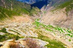 Campo das montanhas Fotografia de Stock Royalty Free
