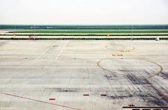 Campo de aviación Fotos de archivo libres de regalías