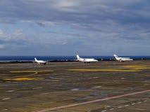 Campo de aviación Foto de archivo libre de regalías