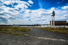 Campo de aviación de Tempelhof, Berlín Foto de archivo